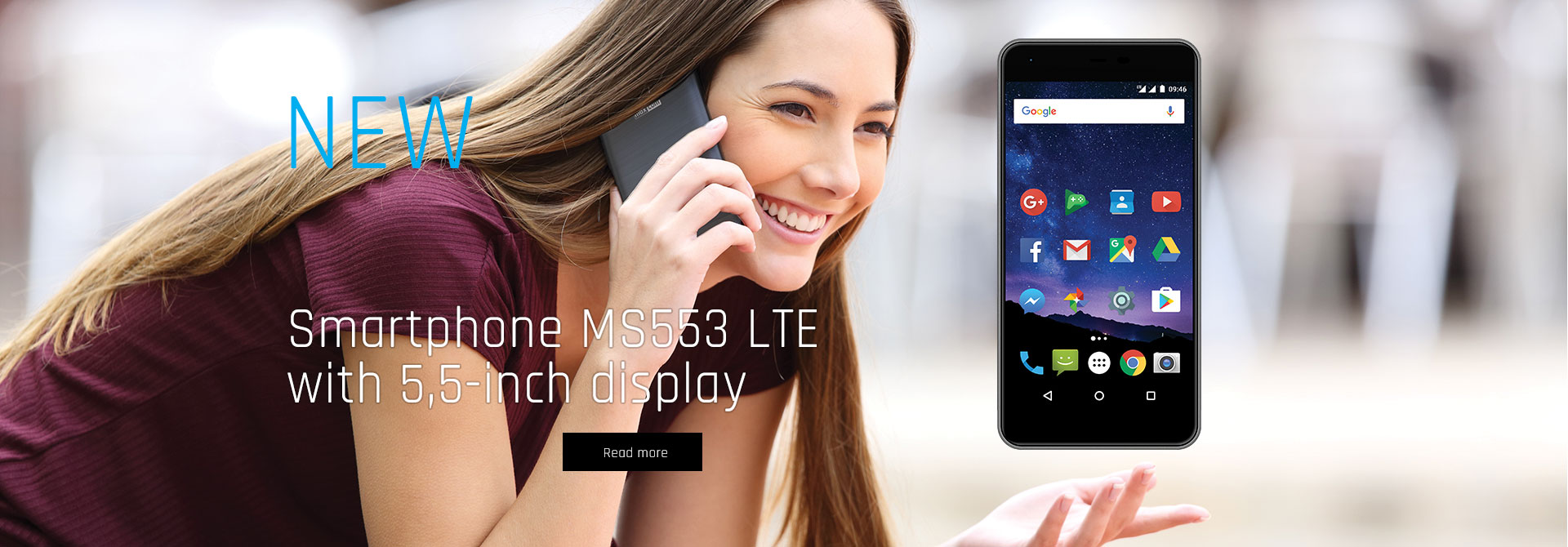 Maxcom Smart MS553 LTE